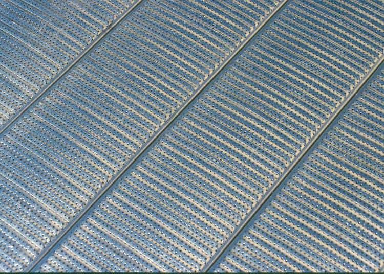Perforated Metal Roll Formed Metal Syrtech Grain Bin