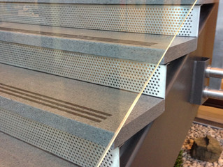 Architectual uses for perforated metal panels