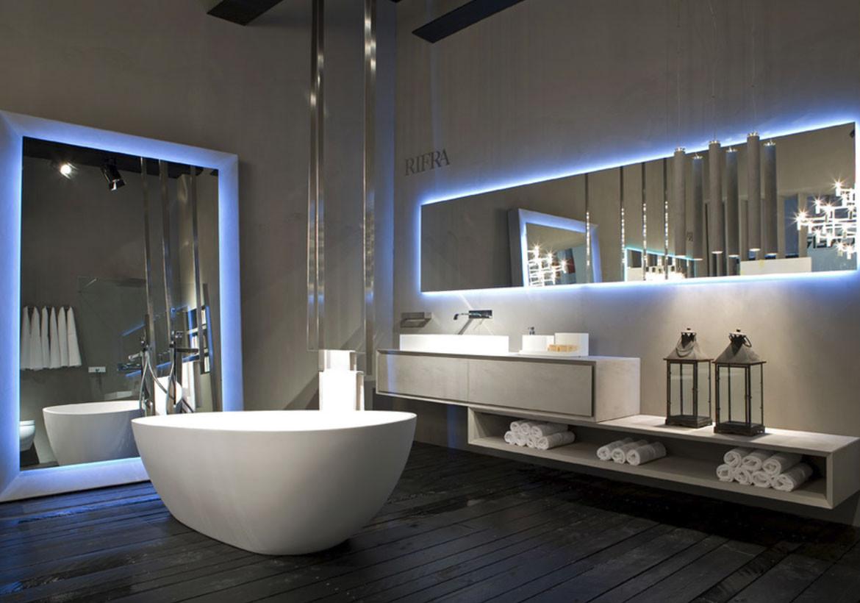 Luxurious Bathroom Lighting