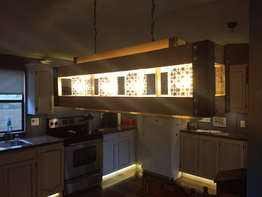 100% Custom Light Fixture