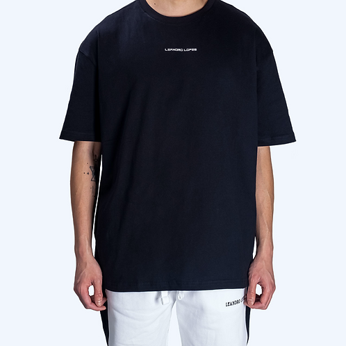Leandro Lopes - NOT MADE IN CHINA - OVERSIZED T-SHIRT - BLACK