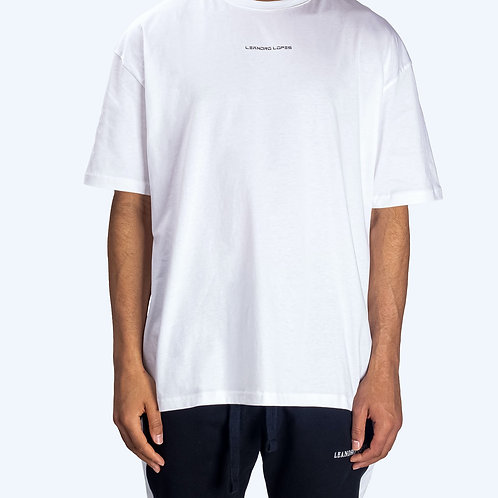 Leandro Lopes - NOT MADE IN CHINA - OVERSIZED T-SHIRT - WHITE