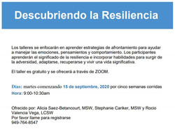 MHC Spanish Coping Skills September