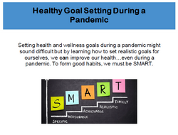 Healthy Goal Setting During the Pandemic