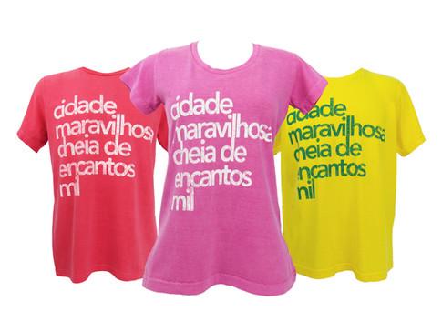 Camiseta Made in Rio by le modiste estampa exclusiva originals Rio de Janeiro, carioca, Dimona, cidade maravilhosa