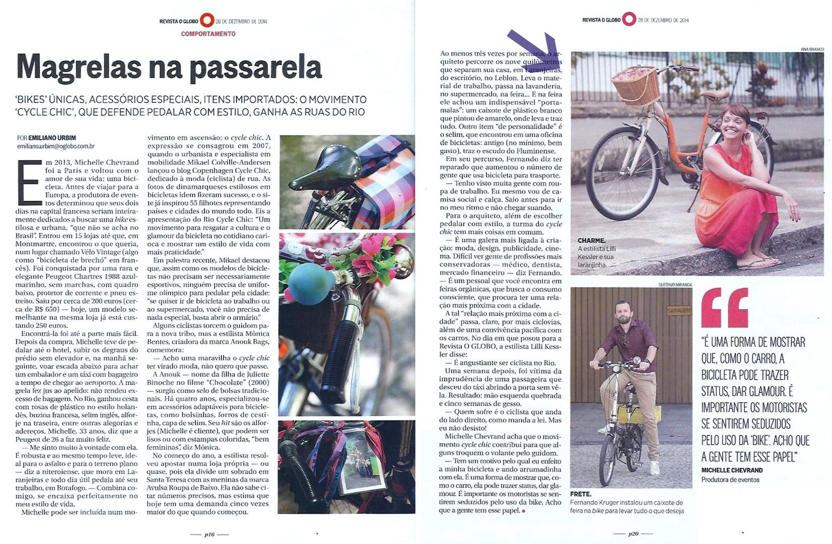 materia bike laranja lilli revista globo