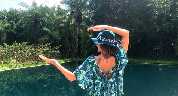 Lilli Kessler se inspira em Inhotim para criar estampas originais e tropicais