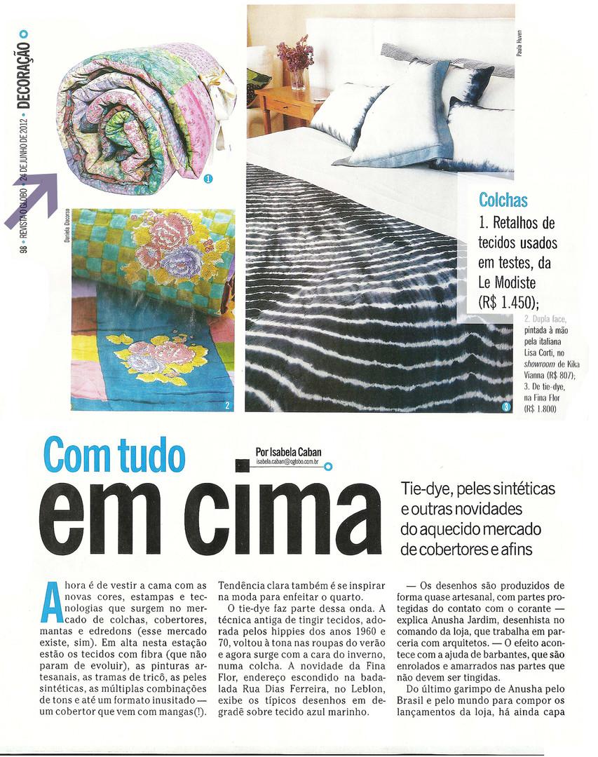 revista globo colcha retalhos site novo.