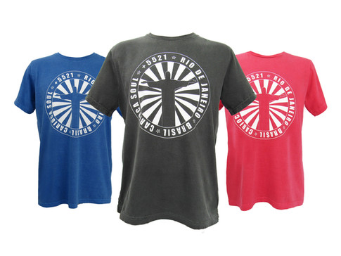 Camiseta Made in Rio by le modiste estampa exclusiva originals Rio de Janeiro, carioca, Dimona, +5521, Carioca Soul