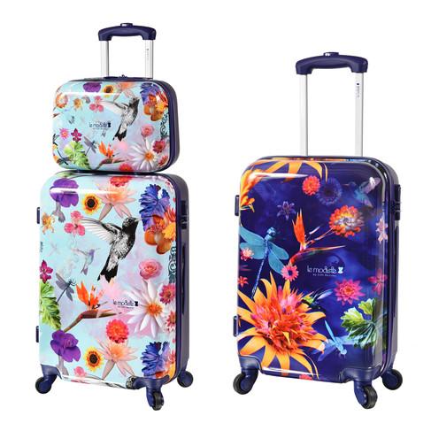Malas estampadas e coloridas floral le modiste by Lilli Kessler originals com estampa exclusiva produzida pela francesa Back Design