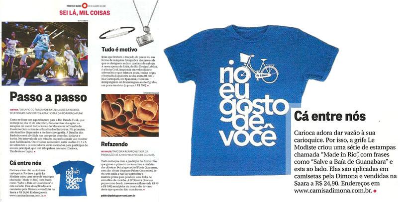 materia globo revista domingo dimona by