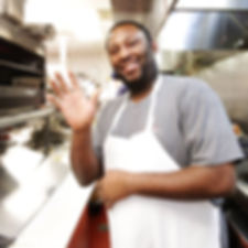 Charles from Rockstone Pizza in Fishes waving