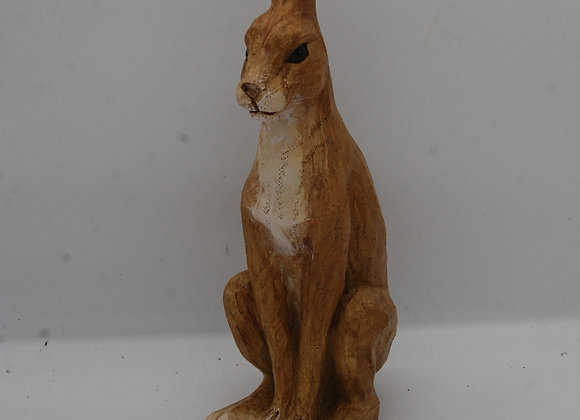 Resin Hare sitting