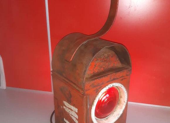 Red Workman Lantern Lamp
