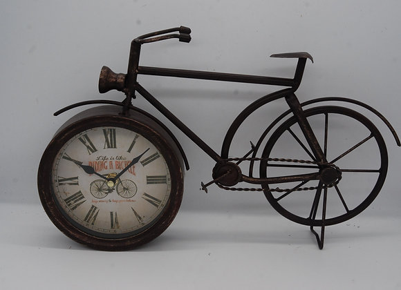 Bicycle Clock