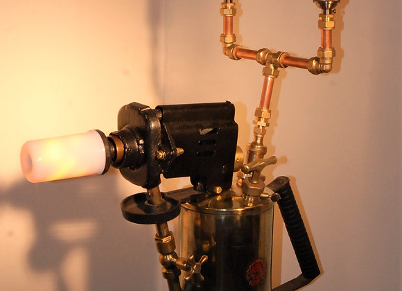 Converted Railway blowtorch