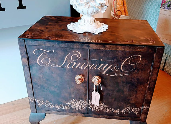 Upcycled French style cabinet