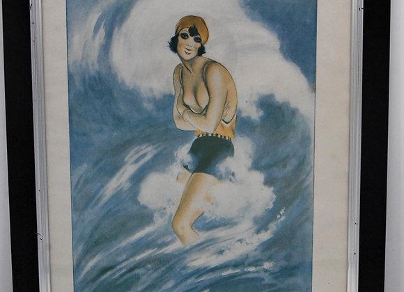 Art Deco Vogue Print