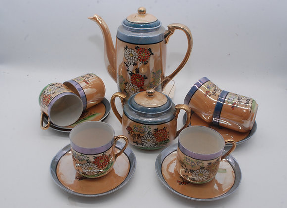 Chinese Style Coffee Set