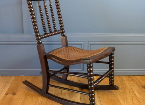 Victorian Bobbin Rocking Chair