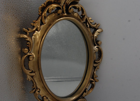 Small Gold Mirror (resin)