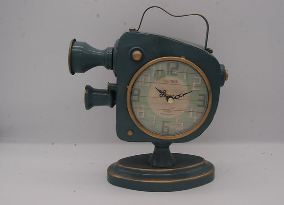 Cine Camera Retro Clock