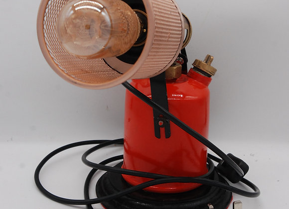 Blowtorch Lamp