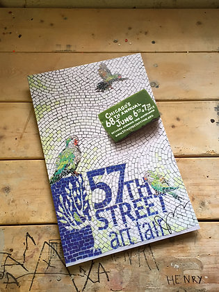 Signed and numbered 57th Street Art Fair posters