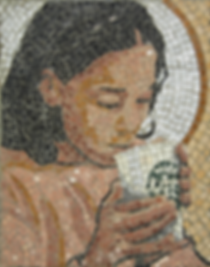 god this coffee's good, mosaic, bachor