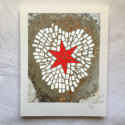 """Holy Trinity/Chicago Star"" signed & numbered limited edition print 11""x14"""