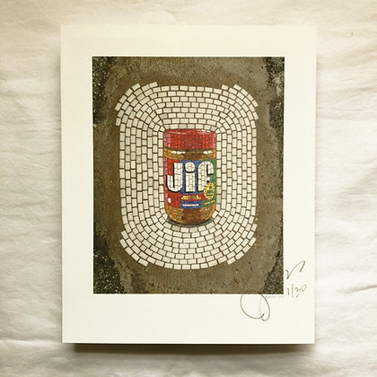 """""""JIF"""" signed/numbered limited edition (of 30) print"""