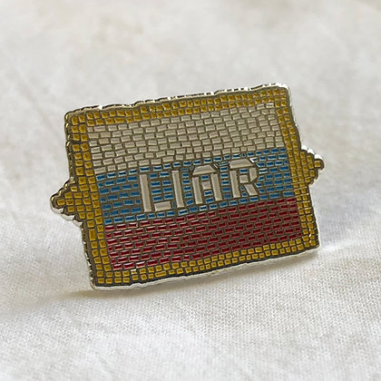 LIAR (Russia) pin