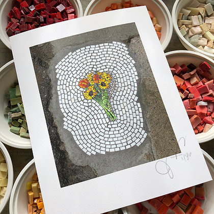 """""""Bouquet ~ Detroit"""" signed & numbered limited edition print"""