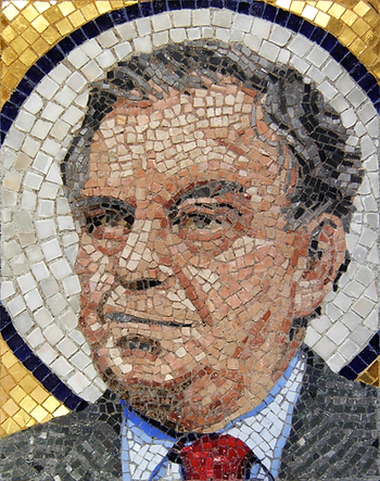 st. daley, mosaic, bachor