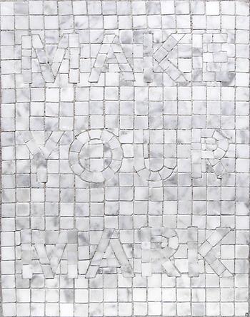 make your mark, mosaic, bachor