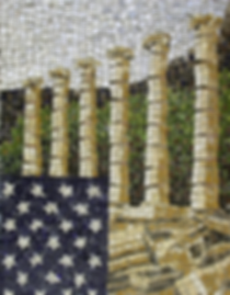 really old glory, mosaic, bachor
