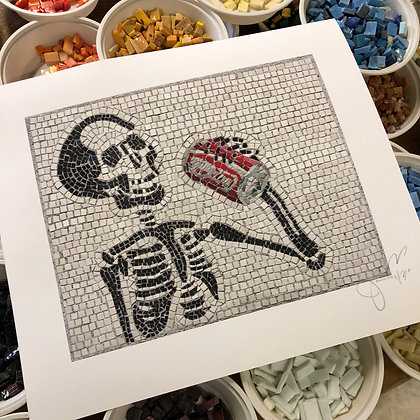 """""""Memento Mori 1"""" signed & numbered limited edition print"""