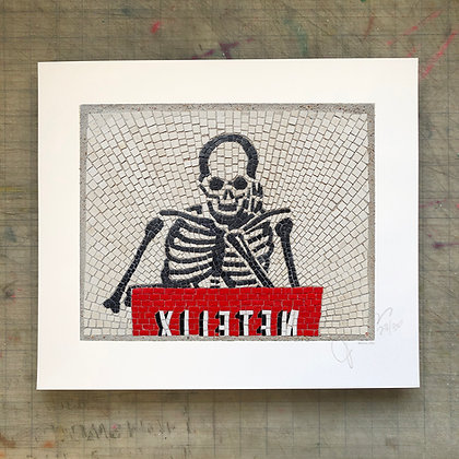 """""""Memento Mori 5"""" signed & numbered limited edition print"""