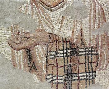 evidence of burberry, mosaic, bachor