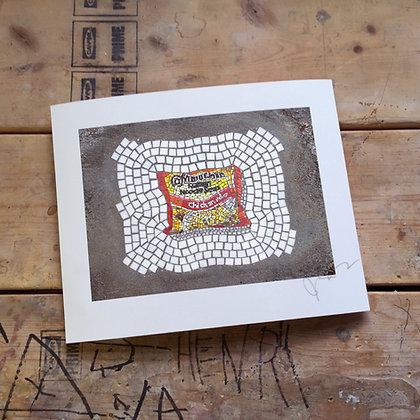 """Ramen Noodles (chicken)"" signed print"