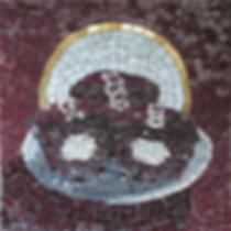 holy cupcake, mosaic, bachor