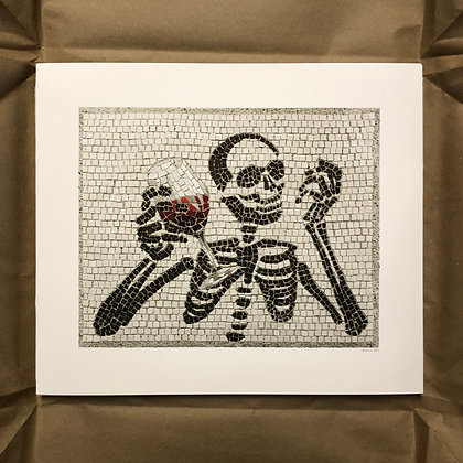 """Memento Mori 4"" signed & numbered limited edition print"