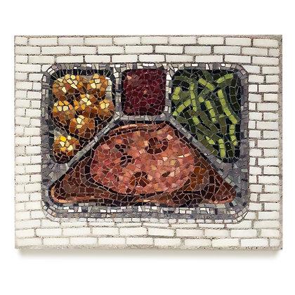 Salisbury Steak Dinner  (with mushroom gravy)