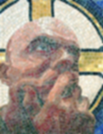 st. me, mosaic, bachor