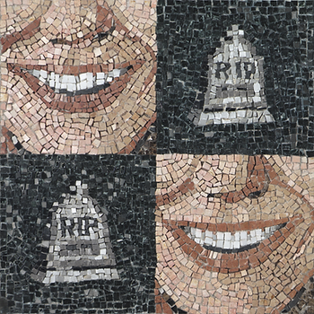 laugh all the way to the cemetery, mosaic, bachor