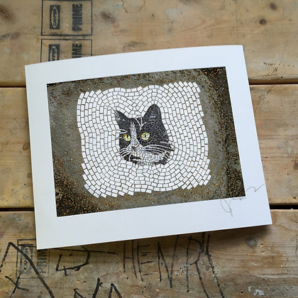 """Street Cat 2"" signed/numbered limited edition (of 30) print"