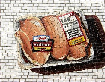 boneless skinless chicken breast, mosaic, bachor