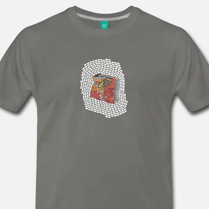 """""""Cheetos"""" t-shirt from the """"Pretty Trashed"""" series"""
