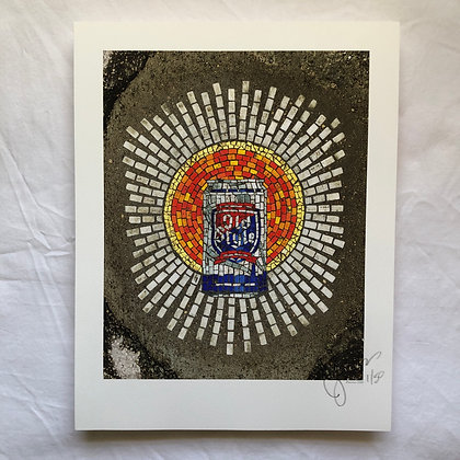 """""""Holy Trinity/Alcohol"""" signed & numbered limited edition print 11""""x14"""""""