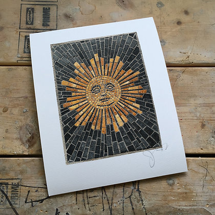 """Sunday Morning Sun"" signed & numbered limited edition print"